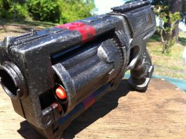Nerf Maverick WIP 4-3-11 by ShadowlineDesigns