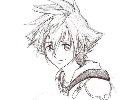 Sora Face Drawing