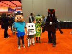 Minecraft Cosplays at C2E2 2013 by Linksliltri4ce