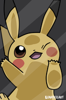 vector pikacu by Crooksshanks