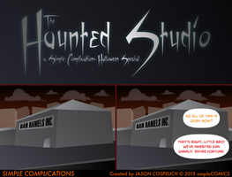 SC781 - The Haunted Studio 1 by simpleCOMICS