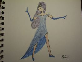 The Dress Made of Moonlight by Smirkat