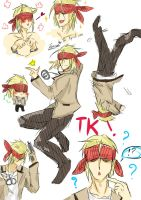 angel beats:TK by ikaewza
