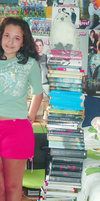 Me and my books by perdiunclip