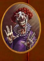 The Clown by onecrazypirate