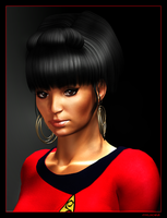 Uhura Portrait 03 by mylochka