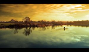 The Oarsman by jfb