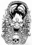 Hannya by Raphture