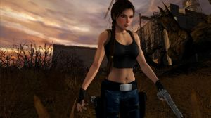 Lara_Croft_Finished_Business by ivedada