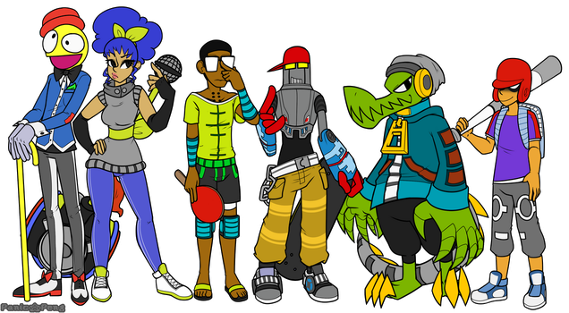[Lethal League] Bunch'o nerds by PanicPeng