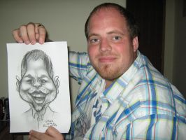 My very first caricature by MortenEng21