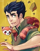 Bolin and Pabu by RealDandy
