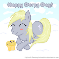 Derpy day 12' by DespisedAndBeloved