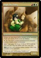 Toph, the Earthbender for MTG by Warrior-Within