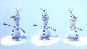 Olaf the snowman by Smoke2007