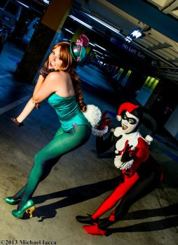 Harley Quinn and The Riddler 2 by Insane-Pencil