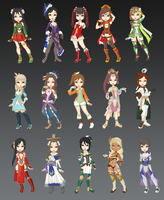 DW - DW8 Girls Collection by cutepiku