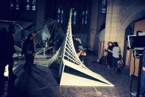 Structure d'exposition by S-Skunk