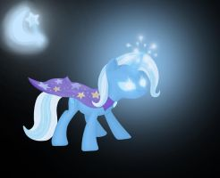 My Little Pony, Trixie by Aklimovich