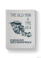 The Old Man and The Sea Book Cover by jamdarcy