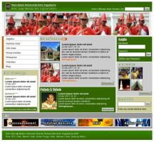 Jogja City Government website by astayoga