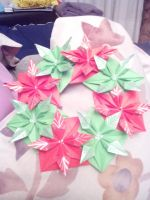 Christmas flower crown by Time-is-slow