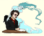 Poe and Annabel Lee by eden-paradox