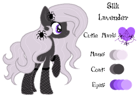 MLP:Silk Lavender Profile by kiananuva12