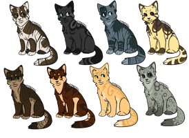Feline batch 1 -Open- by Feradopts