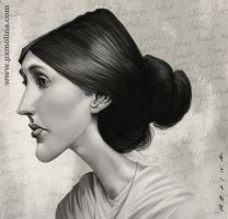Virginia Woolf by pxmolina