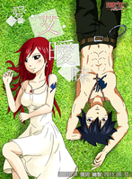 Gray Fullbuster , Erza Scarlet by icecream80810