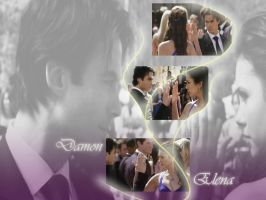 Damon and Elena by LWLP