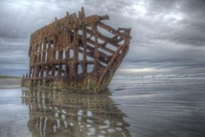 Peter Iredale by adamsimsphotography