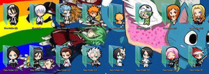 Bleach Folder Icons by Ginokami6