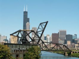 St. Charles Air Line Bridge Chicago by historicbridges