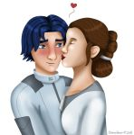 Ezra and Leia by Dawnchaser