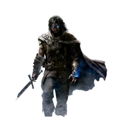 Middle - Earth Shadow of Mordor Talion Render by youknowwho77
