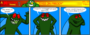 AMT - Eyes On Freddy by BluebottleFlyer