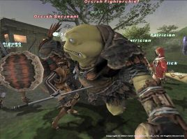 FFXI Orcish Fighterchief by randompuppet