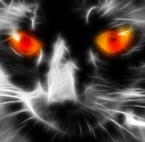 Fractal cat.....lost count by debby-saurus