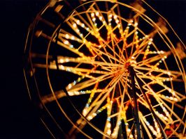 Wheel of Light by pxleyes