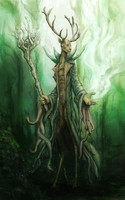 Forest Lord by magbhitu