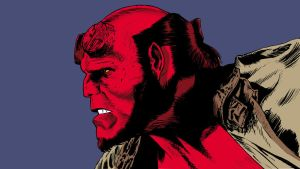 HELLBOY line and color by DeevElliott