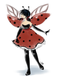 Ladybug Fairy concept clothing by AnnMY