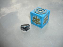 Vongola Rain Ring and Box by hk-1440