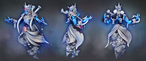 Lich and his BEST FRIENDS High Poly Sculpt by DrySockett