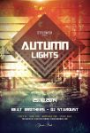 Autumn Lights Flyer by styleWish