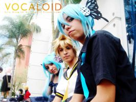 vocaloid cosplay 21 by sakurita-cosplay