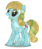Crystal Pony Commission for lilypad152 by MLP-Scribbles