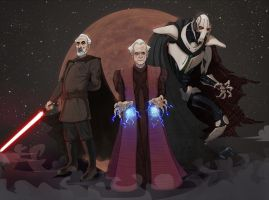 The Clone Wars :The evil ones by anmazol